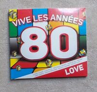 CD AUDIO MUSIC/ VARIOUS VIVE LES ANNÉES 80 LOVE 3XCD COMPILATION DIGISLEEVE NEUF