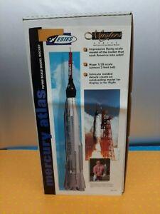 "1:35 Estes EST-2111 Mercury/Atlas Rocket Kit 33"" Tall New In Box Complete X3"