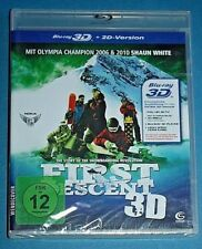 FIRST DESCENT 3D BLU-RAY & 2D NEW SEALED Snowboarding *read below*