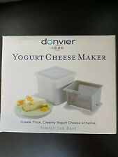 Donvier by Cuisipro Yogurt Cheese Maker NIB