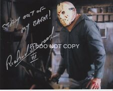 Richard Brooker Friday The 13th Rare Quoted Signed Autographed Reprint