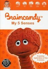 Braincandy  My 5 Senses DVD Award Winning Development & Educational for Baby