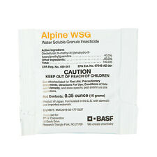 Alpine Wsg Single-dose Packet (10g pkt) Flea Bedbug Roach Control -Not For:Ct,Ny