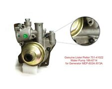 Genuine Lister Petter 751-41022 Water Pump 186-6714 for Generator MEP-803A /813A