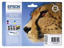 4x Original PATRONEN EPSON SX100 SX105 SX110 SX115 SX218 SX205 SX210 SX215SX510w
