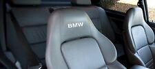 BMW Z3 Z4 M Sport D M3 M5 M6 X5 320 330 520 530 Sedile in Pelle Decalcomania Adesivo Vinile