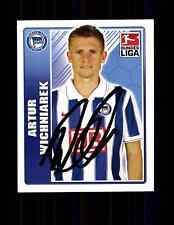 Artur Wichniarek Hertha BSC TOPPS Sammelbild Original Signiert + A 136232