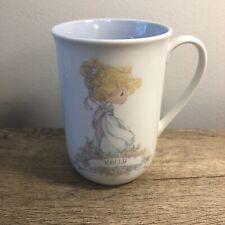 Vintage Precious Moments Kelly Coffee/Tea Mug/Cup 1989 Samuel J. Butcher Vtg