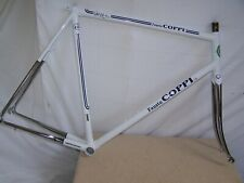 Fausto Coppi Italian road racing bike NOS frame of the 90s Steel and chrome.