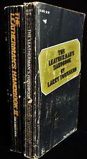 THE LEATHERMAN'S HANDBOOKS 1 & 2 Larry Townsend First Edition Kink BDSM Scene
