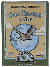 Down to Earth Organic Bat Guano Fertilizer Mix 7-3-1 2 lb