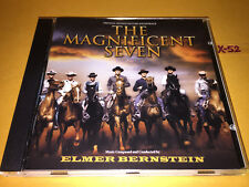MAGNIFICENT SEVEN soundtrack CD elmer BERNSTEIN yul brynner steve mcqueen VARESE
