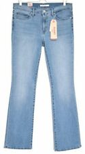 Levi's Stonewashed Cotton Bootcut Jeans for Women
