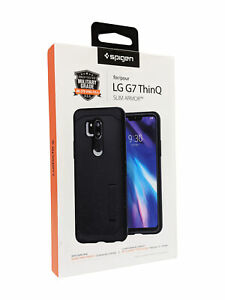 Spigen Slim Armor Case for The LG G7 THINQ - Black