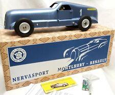 Gr.Jouets Renault Nervasport Blechmodel- Licht/Aufziehmechanismus-Zertifikat-Box