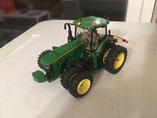 1/64 Ertl John Deere 8345r Dual Front Wheels High Detail Custom Tractor Farm Toy