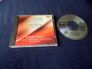 CD Robert Shaw Atlanta SO JANACEK Glagolitic Mass & DVORAK Te Deum TELARC