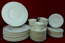 WEDGWOOD china PATRICIAN pattern 48-piece Place Setting SERVICE for TWELVE (12)