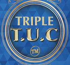 Triple TUC (D0190) Walking Liberty Silver Half Dollar Gimmicks and Online Instru