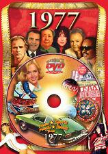 1977 Flickback DVD Greeting Card: 40th Birthday Gift or Anniversary Gift