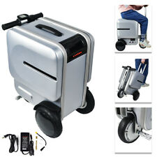 29.3L Electric Pc Suitcase Scooter Travel Carry Luggage Business Rideable