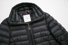 Moncler Vanneau Puffer Coat Black Down Feather Jacket Authentic Womens 1 Small