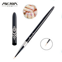 1pc 5/7mm Nail Art Liner Drawing Brush Painting Carving Pen Manicure Tool