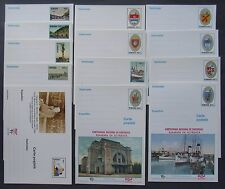Romania - Another time Romania, trains, wagons, 12 post cards - IM 0610