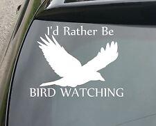 En lugar de ser observación de aves Gracioso Coche/Ventana Jdm VW Euro Vinilo Calcomanía Adhesivo