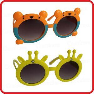 KIDS CHILDREN- BEAR DEER MONKEY TIGER GIRAFFE REINDEER ANIMAL GLASSES SUNGLASSES