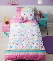 Birdie Tree Duvet | Doona Quilt Cover Set | Cubby House Kids |  Bird Cushion
