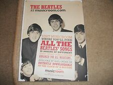THE TIMES PROMO  BEATLES SONG BOOK 30 PAGES   PAGES FULL OF THEIR MUSIC HEY DUDE