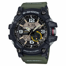 Casio G-Shock GG-1000-1A3 Mudmaster Analog Digital Twin Sensor Green Mens Watch