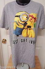 Despicable Me Mens Womens Multi Color Minion T Shirt Top Size M