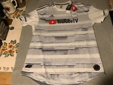New listing MENS NEW LOS ANGELES FOOTBALL CLUB LAFC WHITE SOCCER JERSEY XL ADIDAS CLIMACOOL