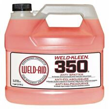 Weld Aid 007090 Weld Kleen Anti-Splatter 350 for Welding 1 gal./3.8L