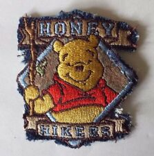 Winnie the Pooh Honey Hikers Embroidery Patch