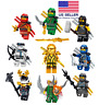 LEGO NINJAGO MINIFIGURES SETS ZANE COLE NYA KAI JAY GOLDEN DRAGON LLOYD MINIFIGS