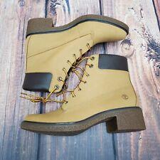 """NWOB Timberland Brinda Wheat 6"""" Lace Up Boots Women Size 9 A1KLL New Without Box"""