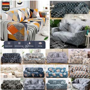 1-3 Sitzer Sofa Sofahusse Sofabezug Abdeckung Überwürfe Stretchhussen Universal