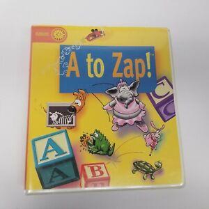 1995 Sunburst Communications A To Zap Mac PC Learning Software & Workbooks
