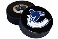 Vancouver Canucks Basic Logo NHL Hockey Puck Bottle Opener