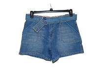 LA Blues Stretch Shorts 10 Women New