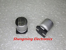 20pcs 220uF 35V SMD chip Aluminum Electrolytic Capacitor 35V220UF 8x10mm