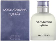 DOLCE & GABBANA LIGHT BLUE POUR HOMME EAU DE TOILETTE 75ML EDT NEU & OVP