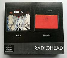 Radiohead – Kid A & Amnesiac. Box Set, Compilation, Limited Edition. Très bon