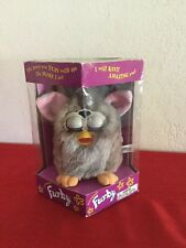 1998 ELECTRONIC FURBY, GREY/TAN,  MODEL 70-800 BY TIGER ELECTRONICS