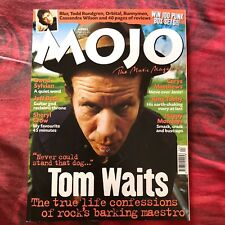 MOJO Magazine UK # 65 TOM WAITS SYLVIAN Jeff Beck BLUR ORBITAL