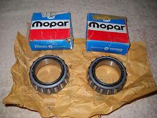 NOS Mopar 1969-1971 Dodge Truck 3/4 & 1 Ton Rear Inner Wheel Bearings Set of 2