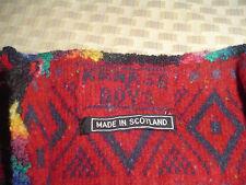 """Kerrse Boys"" Cardigan /Jacket 100% Wool Made in Scotland"